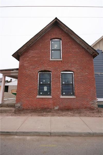Indianapolis Single Family Home For Sale: 16 Orange Street
