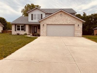 Shelbyville Single Family Home For Sale: 1101 Fallway Court