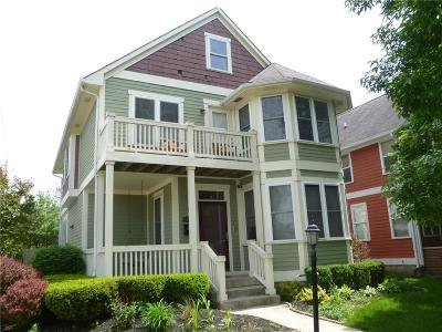 Indianapolis Single Family Home For Sale: 2459 North Pennsylvania Street