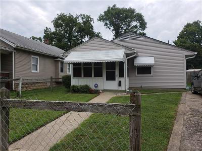 Indianapolis Single Family Home For Sale: 546 West 28th Street