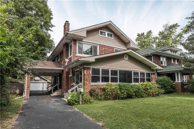 Indianapolis Single Family Home For Sale: 5288 East Pleasant Run Parkway