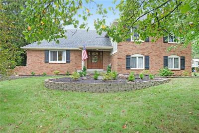 Zionsville Single Family Home For Sale: 125 Governors Lane