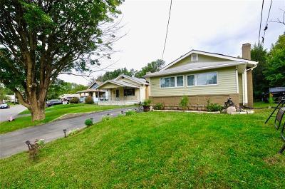 Indianapolis Single Family Home For Sale: 5950 Rawles Avenue