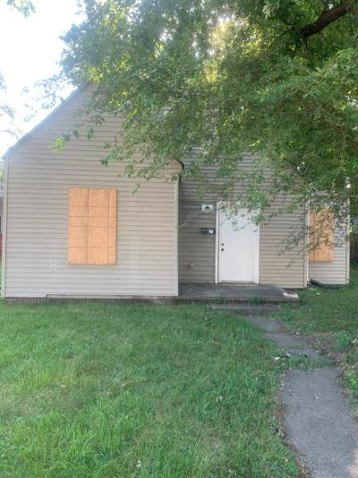 Indianapolis Single Family Home For Sale: 1843 North Harding Street