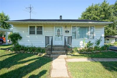 Greenwood Single Family Home For Sale: 406 North Meridian Street