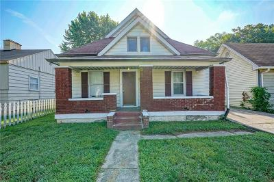 Indianapolis Single Family Home For Sale: 733 North Grant Avenue