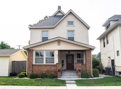 Indianapolis Single Family Home For Sale: 651 East 23rd Street