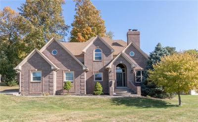 Indianapolis Single Family Home For Sale: 6523 Mossy Rock Lane
