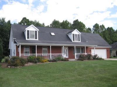 Martinsville Single Family Home For Sale: 3379 Burns Boulevard