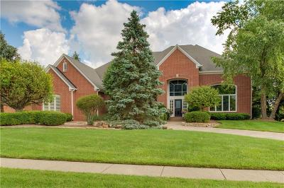 Carmel Single Family Home For Sale: 10547 Chatham Court