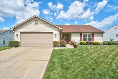Indianapolis Single Family Home For Sale: 4008 Maple Manor Drive