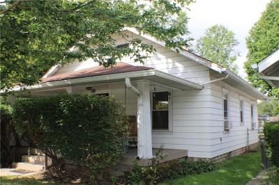 Indianapolis Single Family Home For Sale: 1638 North Belleview Place