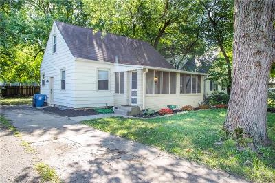 Indianapolis Single Family Home For Sale: 4519 North Primrose Avenue