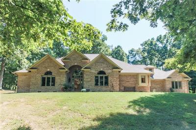 Martinsville Single Family Home For Sale: 6545 West Twin Lakes Drive