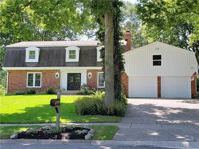 Carmel Single Family Home For Sale: 1419 Douglas Drive
