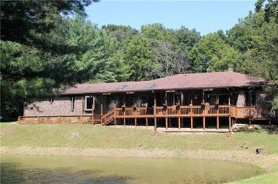 Putnam County Single Family Home For Sale: 5891 East County Road 875 S