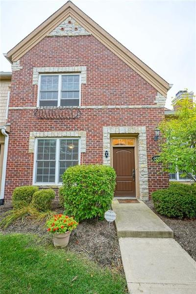 Zionsville Condo/Townhouse For Sale: 6691 Beekman Place #Townhome
