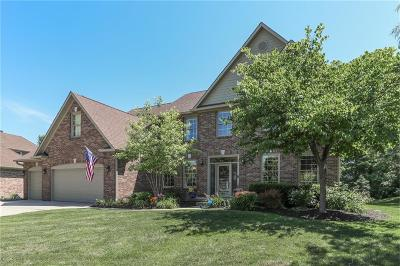 Fishers Single Family Home Pending: 10308 Woods Edge Drive