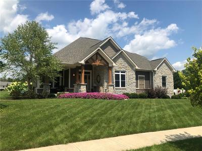New Palestine Single Family Home For Sale: 4364 West Lookout Pass