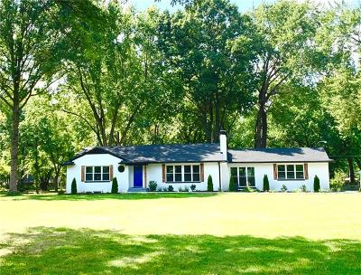 Indianapolis Single Family Home For Sale: 3206 Melbourne Road South Drive