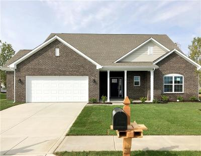 Brownsburg Single Family Home For Sale: 3762 Concord Point Way