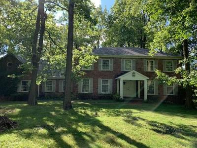 Indianapolis Single Family Home For Sale: 8404 Oaklandon Road