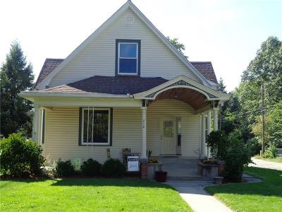 Parke County Single Family Home For Sale: 212 South Michigan Street