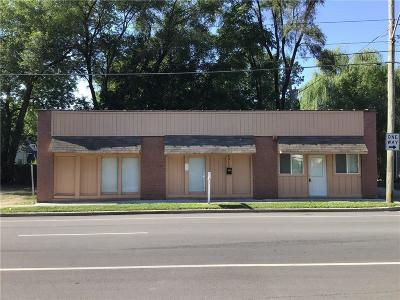Indianapolis Commercial For Sale: 4917 East Michigan Street