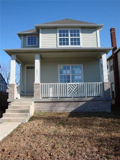 Indianapolis Single Family Home For Sale: 2027 Broadway Street