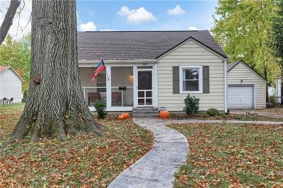 Indianapolis Single Family Home For Sale: 5805 Rosslyn Avenue
