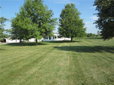 Putnam County Single Family Home For Sale: 6791 East Co Rd 800 N