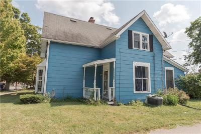 Fortville Single Family Home For Sale: 212 West Staat Street