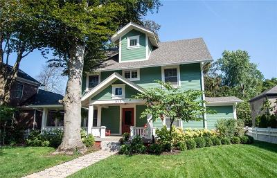 Indianapolis Single Family Home For Sale: 512 East 57th Street
