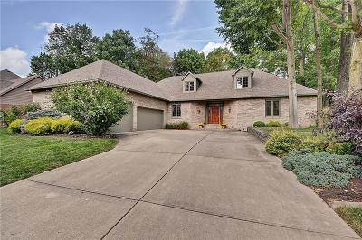 Indianapolis Single Family Home For Sale: 7612 Freedom Woods Drive