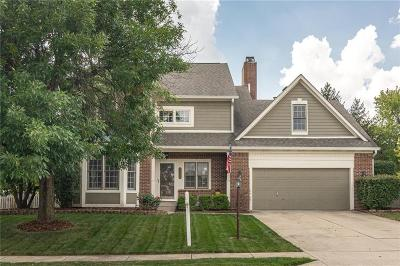 Indianapolis Single Family Home For Sale: 8240 Admirals Landing Pl