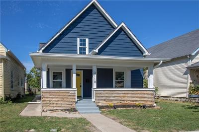Single Family Home For Sale: 3118 East New York Street