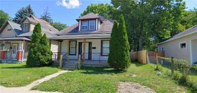 Indianapolis IN Single Family Home For Sale: $99,500