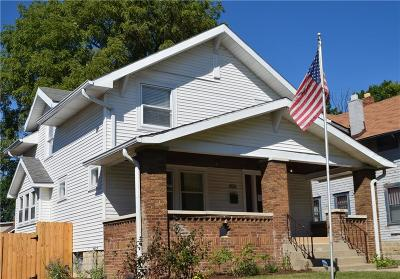 Indianapolis Single Family Home For Sale: 404 North Riley Avenue