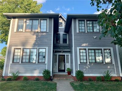 Indianapolis Condo/Townhouse For Sale: 1455 North New Jersey Street #1