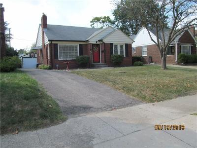 Indianapolis Single Family Home For Sale: 1242 North Downey Avenue