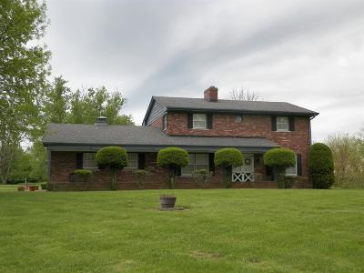 Lawrenceburg Single Family Home For Sale: 17500 Church Road