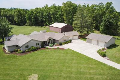 Dearborn County Single Family Home For Sale: 13213 W County Line Road