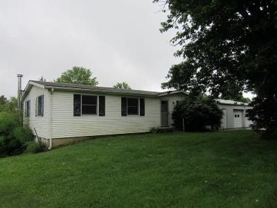 Lawrenceburg IN Single Family Home For Sale: $119,000