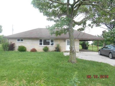 Switzerland County Single Family Home For Sale: 15499 Sr 250