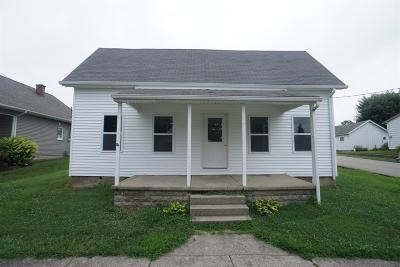 Ripley County Single Family Home For Sale: 123 N Depot Street