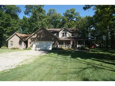 Brookville Single Family Home For Sale: 16098 Messerschmidt Rd