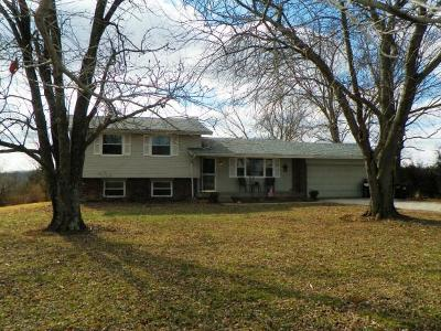 Brookville Single Family Home For Sale: 11144 Fairfield Causeway