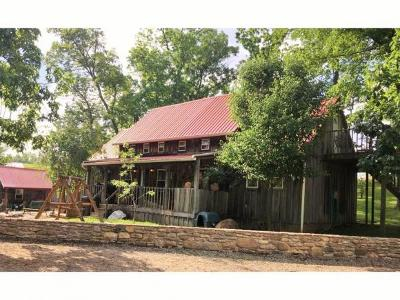Brookville Single Family Home For Sale: 8085 Sharps Hill Rd