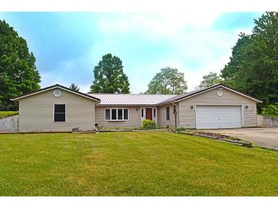 Lawrenceburg, Aurora, Bright, Brookville, West Harrison, Milan, Moores Hill, Sunman, Dillsboro Single Family Home For Sale: 3762 Mary Clair Ln