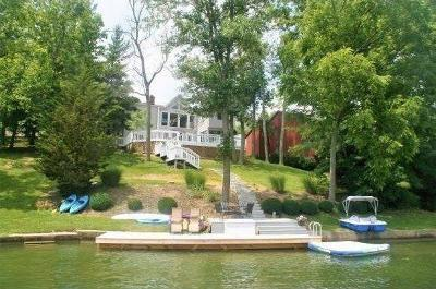 Lawrenceburg Single Family Home For Sale: 1502 Aqua Vista Dr